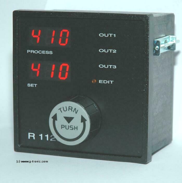www g temperaturregler r1120 mit drehknopf bedienung technische daten. Black Bedroom Furniture Sets. Home Design Ideas